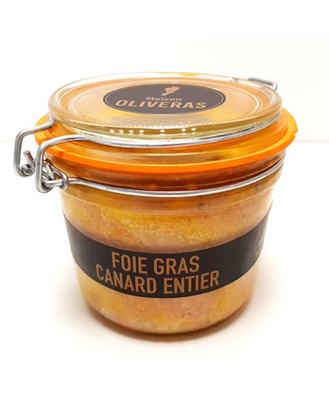 Foie gras de canard entier - 500g Origine France